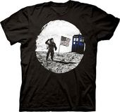 Doctor Who - TARDIS Moon Landing T-Shirt (Large)