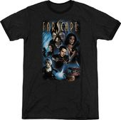 Farscape - Cast T-Shirt (Medium)