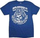 Grateful Dead - 1977 Ithaca NY T-Shirt (Medium)