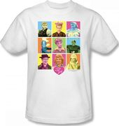 I Love Lucy - Faces T-Shirt (Small)