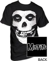 Misfits - Skull & Logo T-Shirt (Medium)