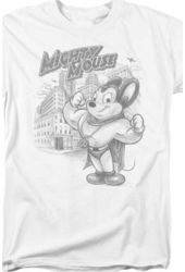 Mighty Mouse - Sketch T-Shirt (Large)