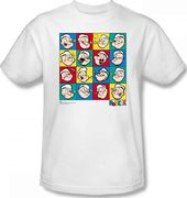 Popeye - Color Block T-Shirt (Small)