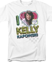 Saved By the Bell - I Heart Kelly T-Shirt (Medium)