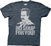 Seinfeld - No Soup For You! T-Shirt (Large)