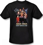 Star Trek - Deep Space Nine Crew T-Shirt (Medium)
