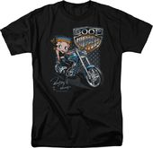Betty Boop: Boop Choppers - T-Shirt