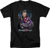 Betty Boop: City Chopper - T-Shirt