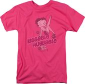Betty Boop: Kissable Huggable - T-Shirt