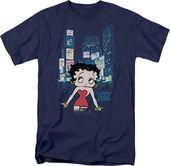 Betty Boop: Boop Square - T-Shirt