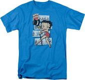 Betty Boop: Comic Strip - T-Shirt
