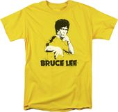 Bruce Lee - Yellow Splatter Suit - T-Shirt