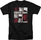 Criminal Minds: Character Boxes - T-Shirt