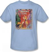 Dragons Lair - Distressed Poster - T-Shirt (Size: