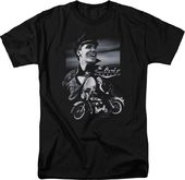 Elvis Presley - Motorcycle - T-Shirt