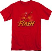DC Comics - The Flash - Rough Distress - T-Shirt