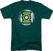 DC Comics - Green Lantern - Destroyed GL Logo -
