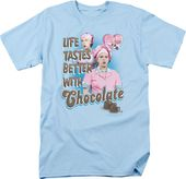 I Love Lucy - Better with Chocolate - T-Shirt