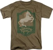 Lord of the Rings: Prancing Pony Sign - T-Shirt