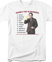Monk: Top 10 Phobias - T-Shirt
