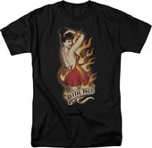 Bettie Page: Devil Tattoo - T-Shirt