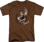Popeye: Strongs to tha Finich - T-Shirt