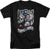 Popeye: Strong & Proud - T-Shirt