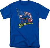 DC Comics - Superman - American Flag - T-Shirt