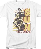 Sun Records - Tri Elvis - T-Shirt