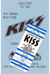KISS - Convention Guide & Ticket: 11nd Annual New