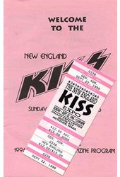 KISS - Convention Guide & Ticket: New England