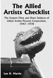 Allied Artists Checklist - Feature Films And