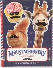 Mustache - Moustachionery - Assorted Note Cards