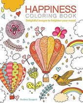 Happiness - Adult Coloring Book
