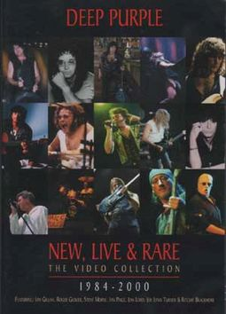 New, Live & Rare: The Video Collection, 1984-2000
