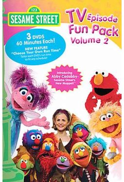 Sesame Street - TV Episode Fun Pack, Volume 2
