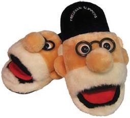 Sigmund Freud - Freudian Slippers (Medium)