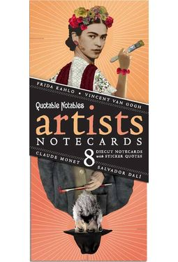 Quotable Notables - Artist Notecards (Pack of 8)