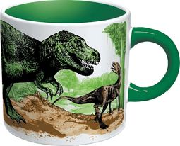 Disappearing Dinosaurs - 12 oz. Heat Activated Mug