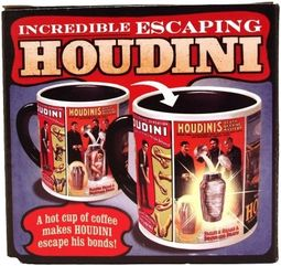 Harry Houdini - Escape Artist - Heat Avtivated 12