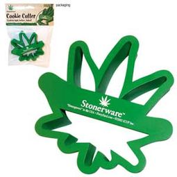 Marijuana Leaf Shaped Cookie Cutters