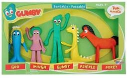 Gumby - Gumby & Friends - Bendable Action Figures