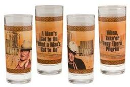 John Wayne - Duke / Creed - 4-Piece 10 oz. Glass