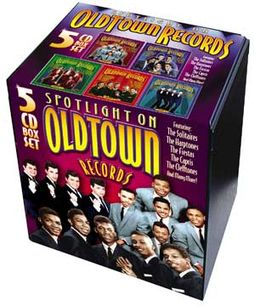 Spotlight On Old Town Records (5-CD Box Set)