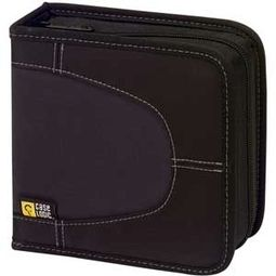Case Logic Black 32-CD Nylon Media Wallet