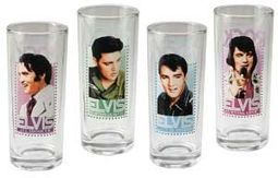Elvis Presley - 4-Piece 10 Oz. Glass Set