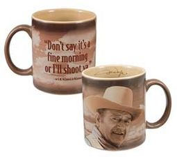 John Wayne - Fine Morning - 12 oz. Ceramic Mug