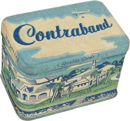 Tin Jr. Treasure Box - Contraband