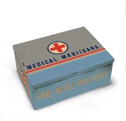 Tin Cigar Box - Medical Marijuana
