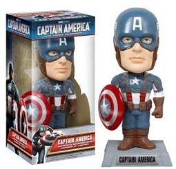 Marvel Comics - Captain America - Wacky Wobbler